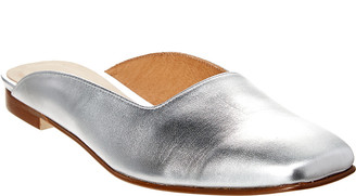 French Sole Sidecar Leather Flat