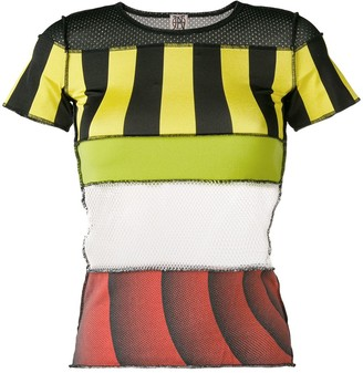 Jean Paul Gaultier Pre Owned patchwork T-shirt