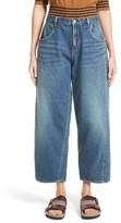 Undercover Women's Wide Leg Crop Jeans