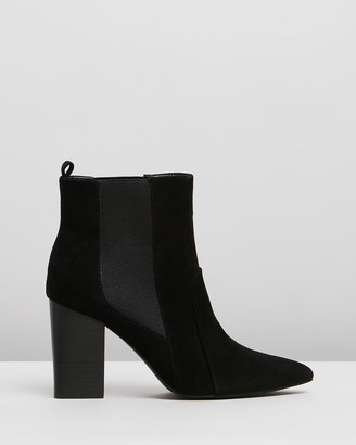 IRIS Footwear - Women's Black Heeled Boots - Remi - Size One Size, 7 at The Iconic