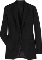 Rialet wool-blend blazer