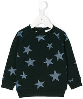 Stella McCartney star print sweatshirt - kids - Cotton - 12 mth