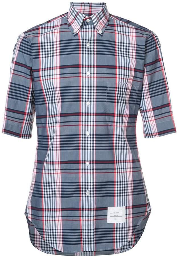 Thom Browne classic short sleeve shirt