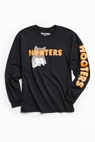 Urban Outfitters Hooters Logo Long Sleeve Tee