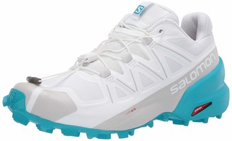 Salomon Women's Athletic-Water-Shoes Hiking White/Bluebird