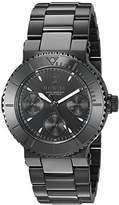Invicta Women's 'Gabrielle Union' Quartz Stainless Steel Casual Watch, Color:Black (Model: 22952)