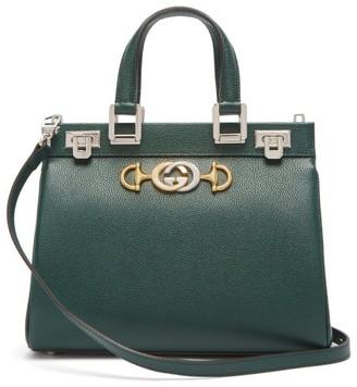 Gucci Zumi Small Leather Handbag - Green