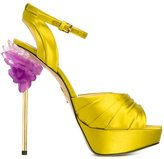 Charlotte Olympia 'Fiona' sandals - women - Silk/Leather - 41