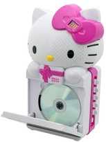 Hello Kitty CD+G Karaoke System with LED Light Show and MP3/MP3+G Playback
