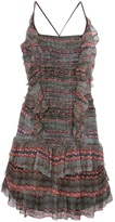 Etoile Isabel Marant ruffled sheer dress