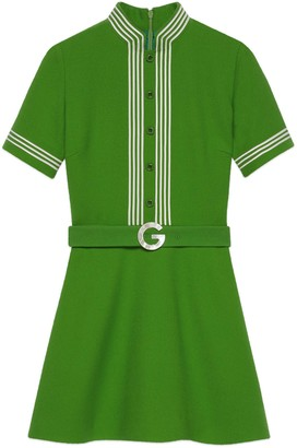Gucci Light wool crepe dress