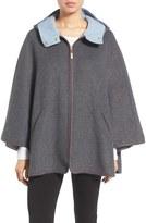 Ellen Tracy Women's Double Face Cape Coat