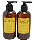 The Naked Bee Orange Blossom Honey Hand & Body Lotion, 8 oz, 2 Pack