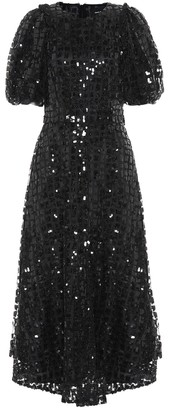 Simone Rocha Sequined tulle dress