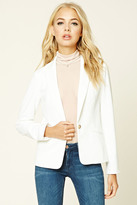 Forever 21 FOREVER 21+ Single-Buttoned Blazer