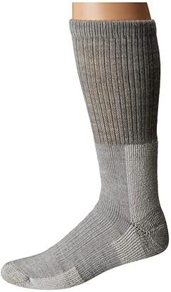 Thorlos Trekking Crew Single Pair (Light Gray) Crew Cut Socks Shoes