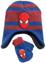 Toddler Boy Spider-Man Fleece Hat & Mittens Set