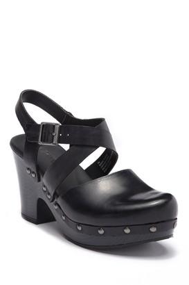 KORKS Abloom Ankle Strap Clog Sandal