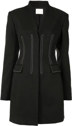 Dion Lee V-Neck Blazer Dress