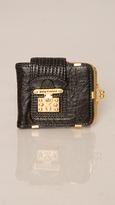 Juicy Couture Black Lock Frame Wallet