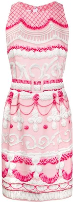 Moschino Icing-print short dress