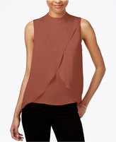 Bar III Sleeveless Tulip-Front Top, Only at Macy's