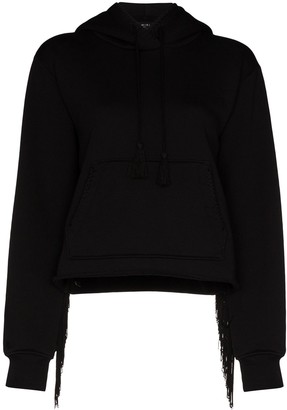 Amiri Fringed Hooded Sweatshirt