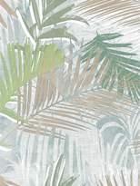 Boutique Jungle Glam Wallpaper – White/Gold/Green
