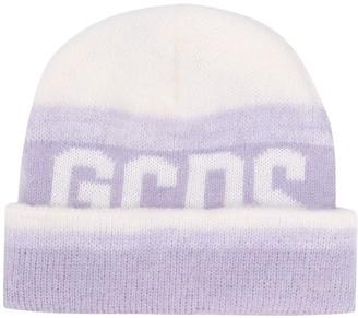 GCDS Logo Intarsia Knit Beanie