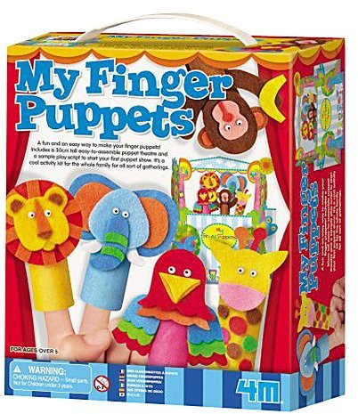 Toysmith 4M 4M My Finger Puppets #4854