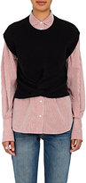 Alexander Wang Women's Twisted-Front Wool-Cashmere Sweater