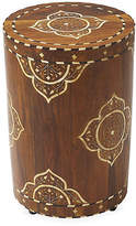 One Kings Lane Bari Side Table - Bone/Wood