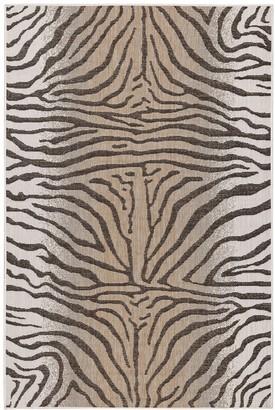 Liora Manné Carmel Zebra Pattern Indoor Outdoor Rug