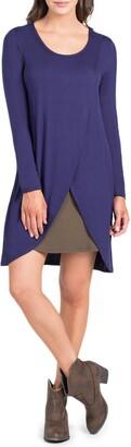 Savi Mom Lenox Crossover Front Maternity/Nursing Dress