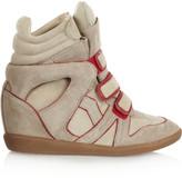 Isabel Marant The Bekett high-top suede sneakers