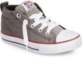 Converse Chuck Taylor ® All Star ® 'CTAS Street' Mid Sneaker (Baby, Walker, Toddler Little Kid & Big Kid)
