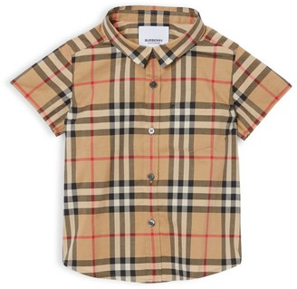 Burberry Baby's & Little Boy's Fredrick Vintage Check Cotton Shirt