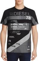 Diesel T-Joe Compact Graphic Tee