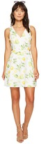 Kensie Lemon Tree Dress with Cut Out Back KS6U7019 Women's Dress