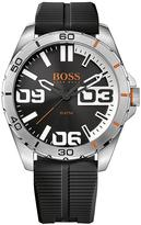 HUGO BOSS Berlin Black Dial Black Silicone Mens Watch