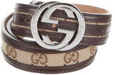 Gucci GG Canvas Waist Belt
