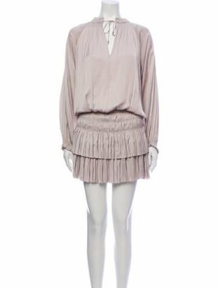 Ulla Johnson V-Neck Mini Dress w/ Tags