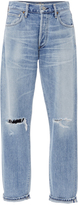 Citizens of Humanity Liya High Rise Distressed Classic Fit Jeans