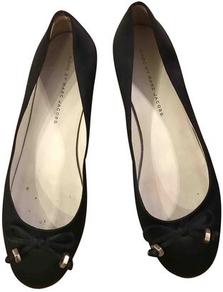 Marc by Marc Jacobs Black Synthetic Ballet flats