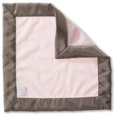 Swaddle Designs Baby Lovie Security Blanket - Taupe Gray Baby Velvet (Pastel Pink)
