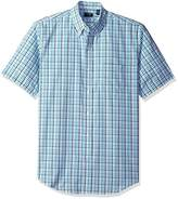 Arrow Men's Hamilton Plaid Short Sleeve Shirt