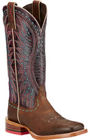 Ariat Women's Vaquera Cowgirl Wide Square Toe Boot