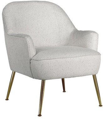 "Signature Design by Ashley Genessee Beige Accent Chair - 26""W x 26""D x 33""H"