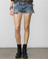 Denim & Supply Ralph Lauren Flag-Pocket Cutoff Denim Shorts
