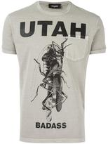 DSQUARED2 Utah mantis pocket T-shirt